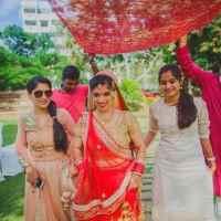 fun bridesmaids photos, TAARINI WEDDINGS EVENTS