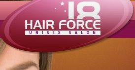 Hair Force 18 Unisex Salon